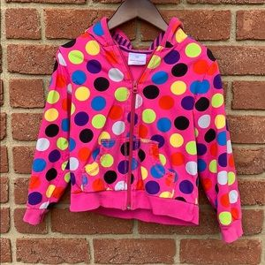 Hanna Anderson Girls size 120 lightweight jacket